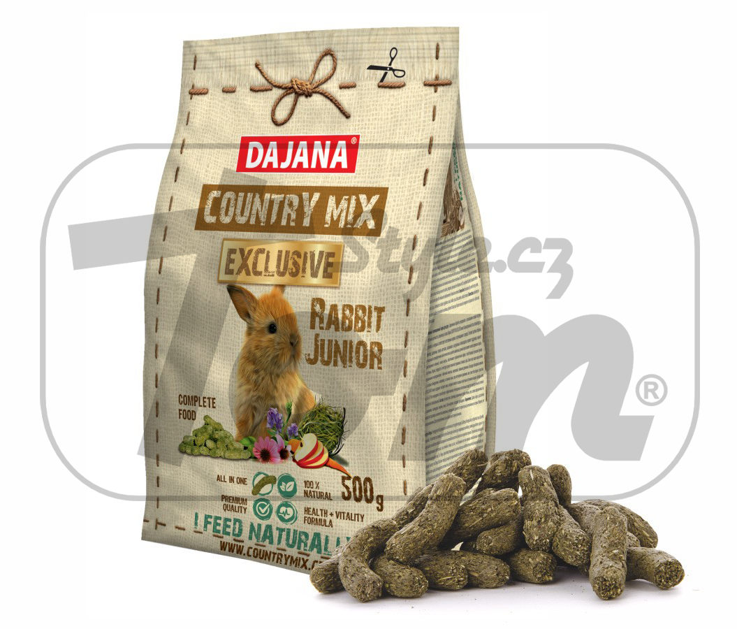 COUNTRY MIX EXCLUSIVE, králík junior