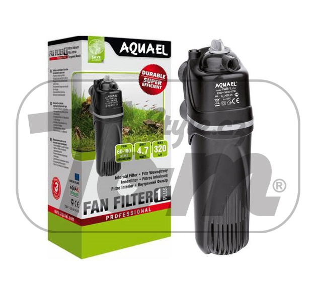 AQUAEL Fan Filter 1 Plus, 320 l/h