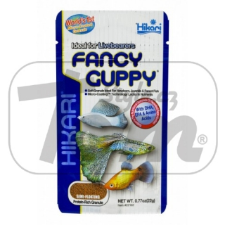 Hikari Tropical Fancy Guppy 22g