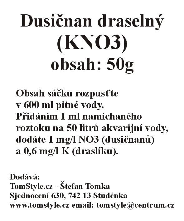 Dusičnan draselný  (KNO3) (obsah: 100g)